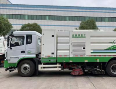 智能电驱!森源重工研发18吨洗扫车实现零排放、零污染