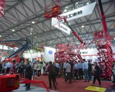 临工重机全系列全新外观高空作业平台产品登路APEX ASIA 2019