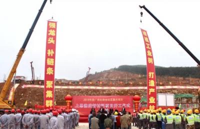 总投资15亿元 广西上思县德盛新材料项目开工