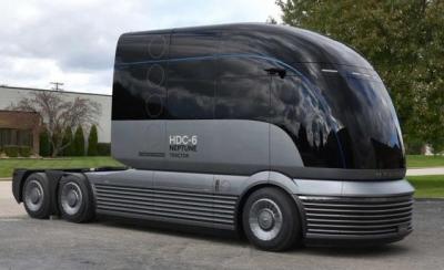 现代发布氢燃料电池牵引车 正战略投资加速氢技术开发