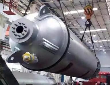 重庆水泵突破单重65吨蓄能器设计制造工艺 解决设计制造难题