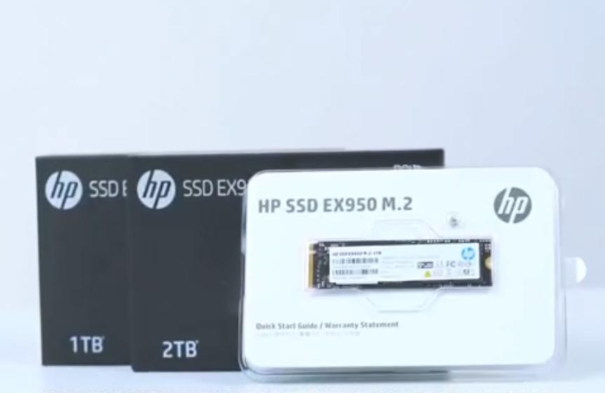 惠普新旗舰SSD EX950表现太过抢眼,高性能低功耗,专为游戏而生