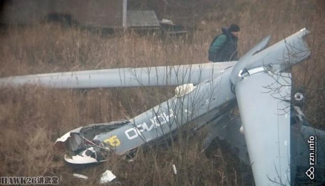 俄最新无人机刚量产就出事 试飞时设备失灵坠毁