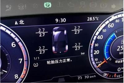 2020年1月1日起所有新车都要强制增加胎压监测这一项配置