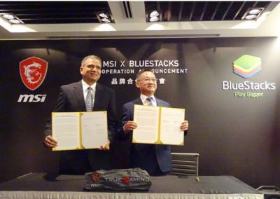 台电竞电脑厂微星将认购软件模拟器龙头BlueStacks融资强化双方的合作