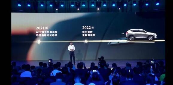 WEY计划在2022年推出首款燃料电池汽车