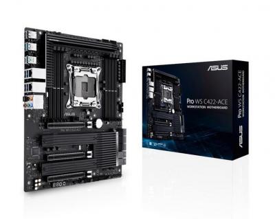 华硕推出Pro WS C422 ACE主板,可扩展18核心+512GB内存