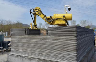 机器人式建筑3D打印机问世!可移动现场打印提高自动化水平