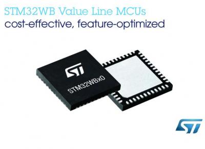 意法半导体经济型超值系列MCU新增STM32WB55无线微控制器