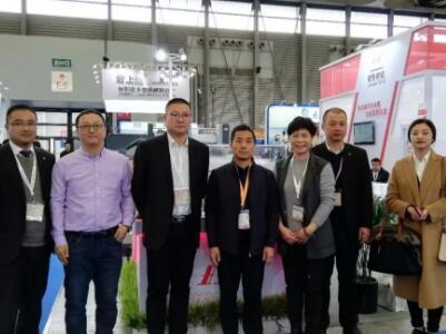 常熟纺机与鑫涛科技签约仪式在上海新太阳神博览中心举行