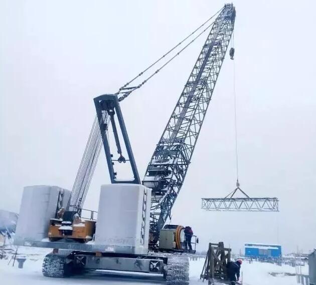 三一履带起重机在俄罗斯创下零下48度施工纪录