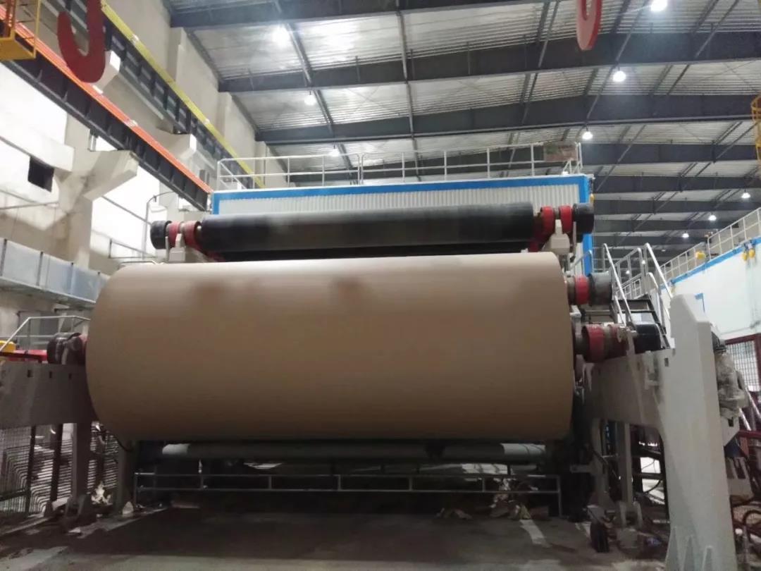 华章科技PM5成功开机 林平纸业距百万吨产能仅一步之遥