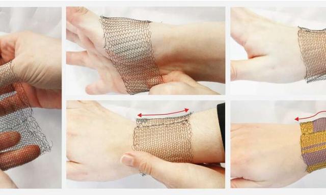 新型溫度敏感型紡織面料 僅靠人體體熱作為動力來源
