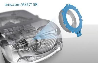 艾迈斯半导体推出首款适用于高速汽车电机的电感式位置传感器AS5715