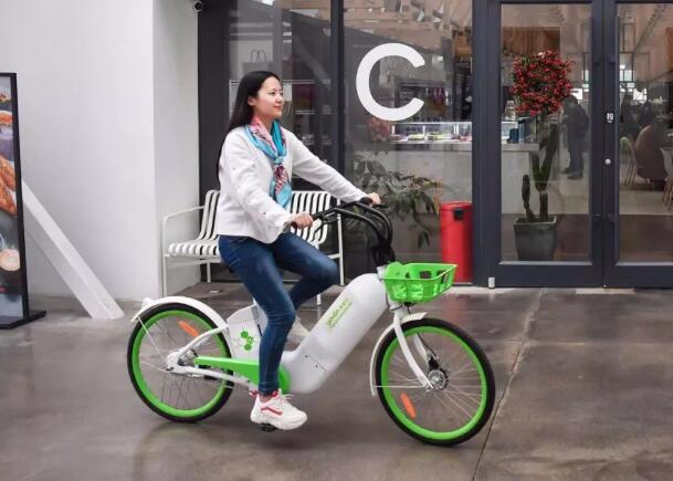 全球首款共享氢燃料电池自行车向公众开放 明年将小批量投放试点