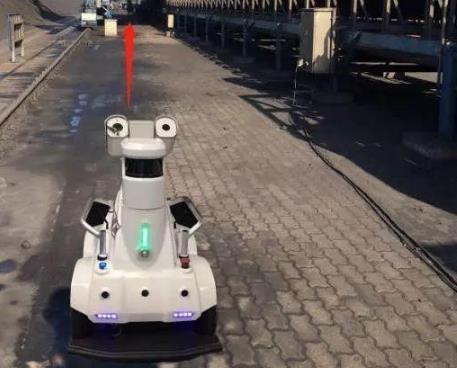 中交一航局助力京唐港散货码头即将进入机器人巡检时代
