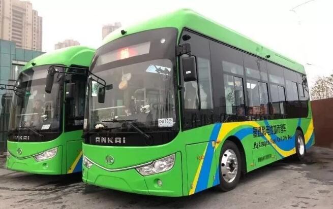 绿色交通!河南/安徽两地近期均上线氢燃料电池公交车