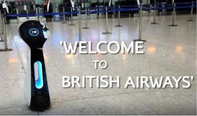自主机器人将走进英国航空航站楼 或将能说中文