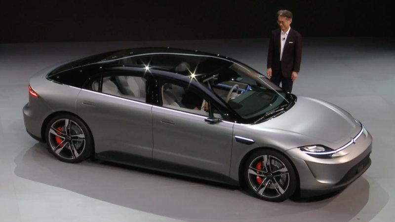 索尼发布全新概念车Vision-S 用一种概念来展示系列传感器