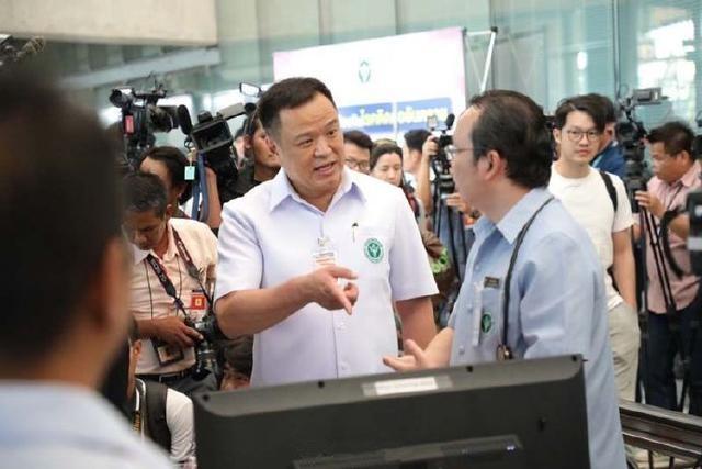 泰国各大机场安装热扫描仪,为要排查武汉不明原因肺炎