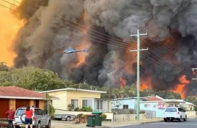澳山火烟雾至南美:会对世界生态环境产生怎样的影响?