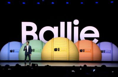 """三星发布球形机器人Ballie 开启全民""""体验时代"""""""