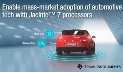 德州仪器推全新Jacinto7处理器平台,以低功耗提高车辆感知能力