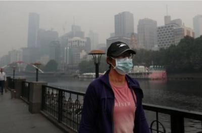 澳山火浓烟将绕世界一周 全球大气状况或不容乐观