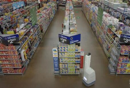 沃尔玛将部署650家机器人商店 零售业自动化成大趋势