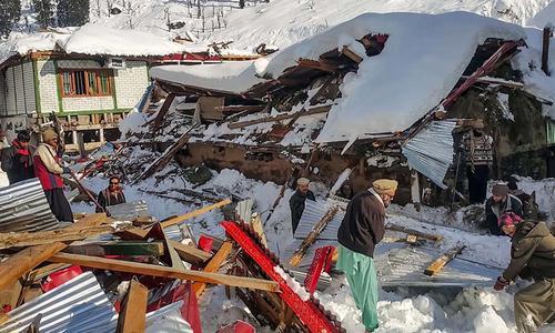 克什米尔北部雪崩:67人遇难,矿产丰富7个地区进入紧急状态