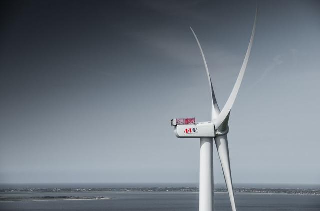 全球最大商用海上风电机组正式投运 单机最大9.5MW