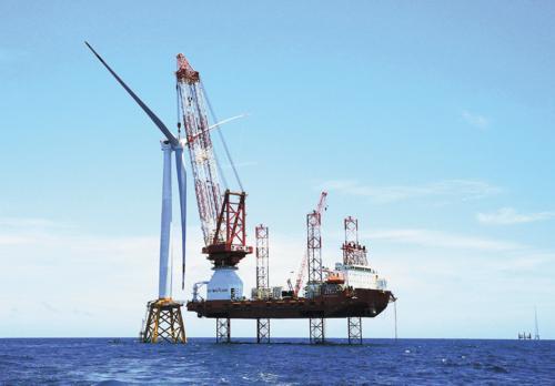 中车海上风电阳江基地新进展:可造6~12MW直驱永磁风机