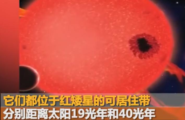 又有2颗可宜居星球被发现,最近仅19光年
