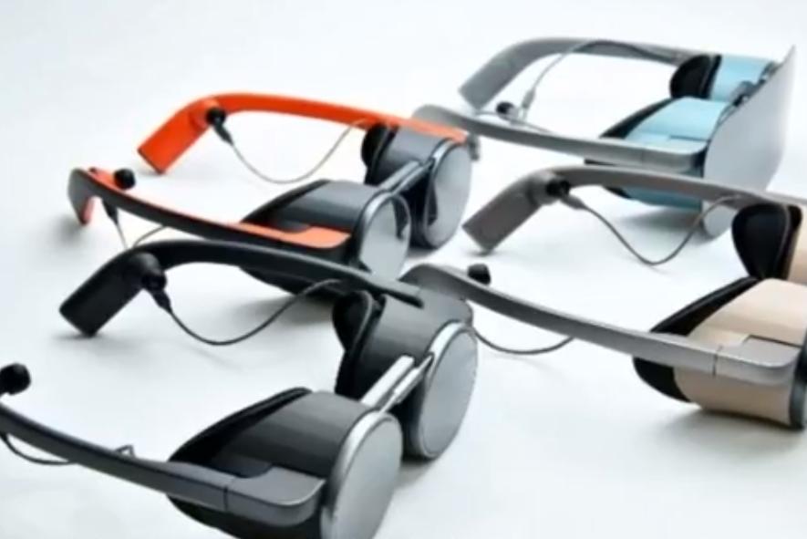 松下公布首款VR眼镜,造型轻巧,超高清显示