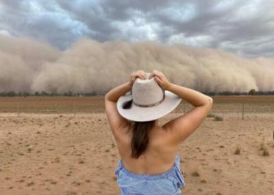 """澳大利亚沙尘暴宛如""""世界末日"""" 沙漠如何改成绿洲?"""