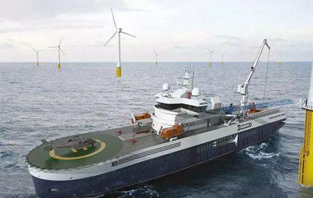 """大洋海装""""雄程天威1""""海上风电运维船试航成功"""