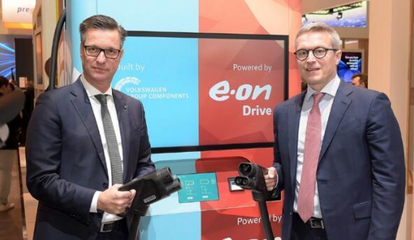大众与E.On联合推出便携式充电桩 无需土木工程或干线连接