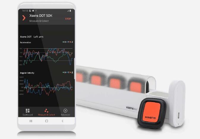 Xsens推出可穿戴传感器开发平台 帮助精确绘制生物机械运动图