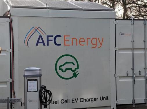 AFC推出采用燃料电池供电的电动汽车充电器