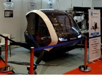印尼首个载人无人机:最长续航1小时 最多可载两人