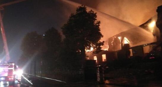 长沙一包装厂突发大火,曾被曝光存重大火灾隐患