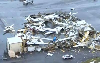 龙卷风袭击美国已致25人死亡:自然灾害频发与破坏环境有关吗