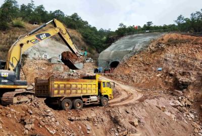 滇中引水工程玉溪段首个隧洞主体施工项目正式施工