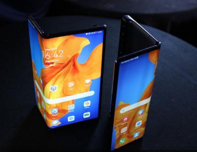 华为新款折叠屏手机Mate Xs开售瞬间秒光 售价16999元!