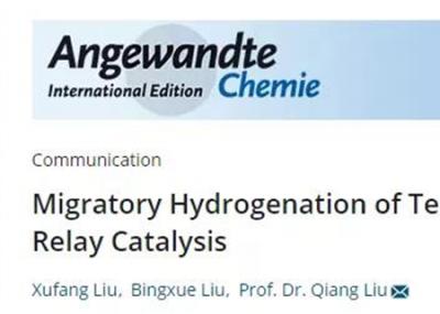 清华大学实现端炔的迁移氢化反应高效构建内烯烃产物