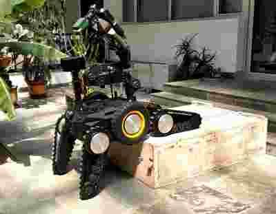 """沈阳自动化所研制出复合式排爆机器人""""天蝎"""""""