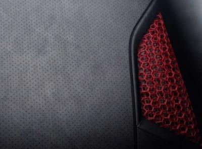 保时捷新概念:3D打印车身全斗式座椅 三种硬度任意选择