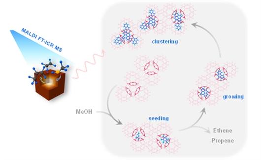 大连化物所发现分子筛催化跨笼积碳失活机制