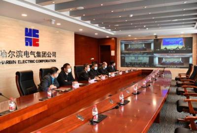 哈电集团节能减排新突破 合作三方云签约新订单全力转型升级