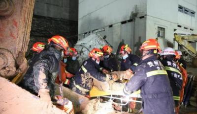 贵阳一工厂内滑坡事故4人死亡7人失联5人获救 搜救工作继续进行